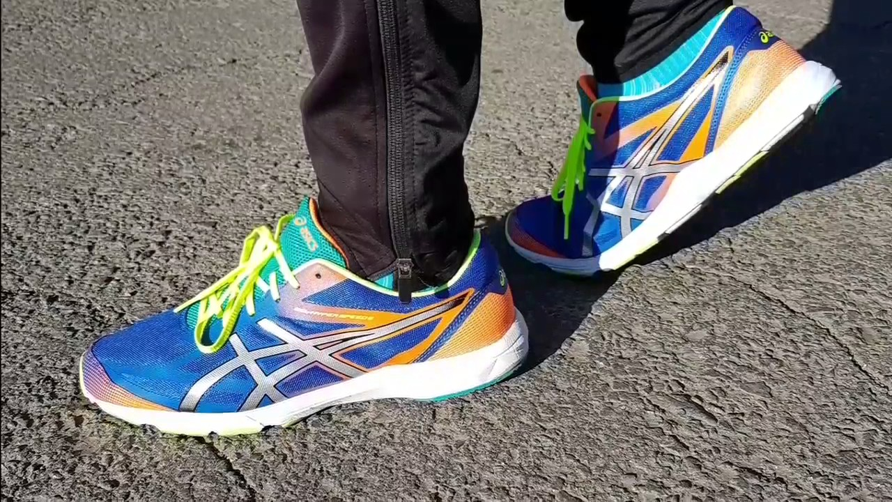 Asics gel hyper speed 6 YouTube