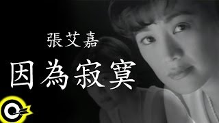 張艾嘉 Sylvia Chang【因為寂寞 Because of loneliness】Official Music Video