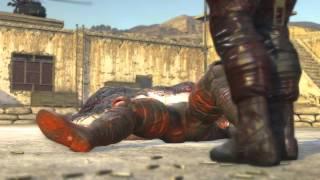 Metal Gear Solid 5 Phantom Pain - Fire Man Revealed as Colonel Volgin (Secret Scene)