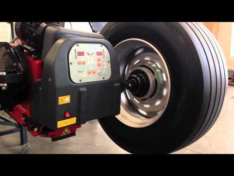 M&B ENGINEERING DIDO SERVICE MOBILE TRUCK WHEEL BALANCING PROCEDURE