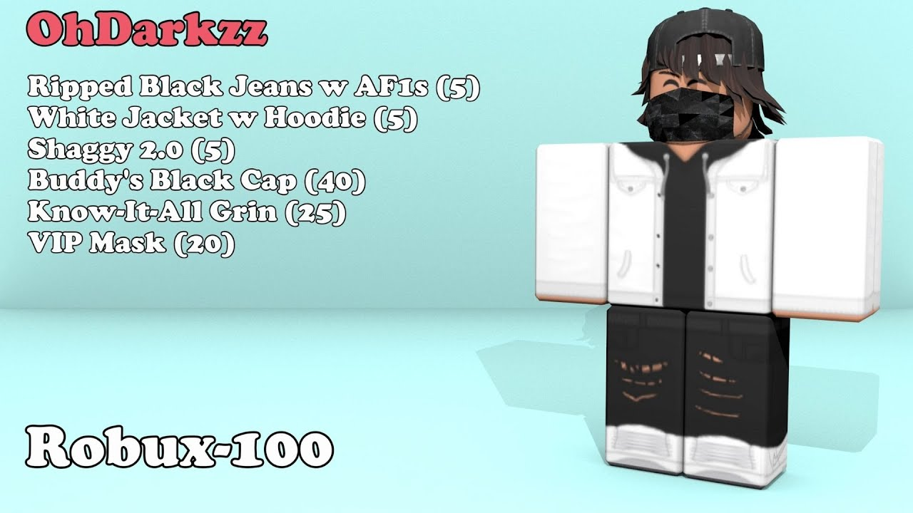 35 Outfits in 100 Robux Roblox Outfit Ideas YouTube