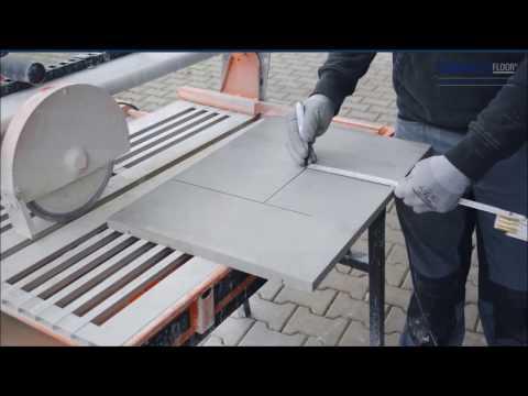Wärmeleitschicht CompactFloor EXPERT auf einer Fußbodenheizung verlegen