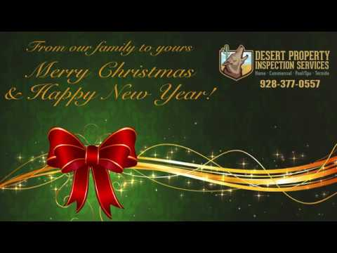 Desert Property Inspection Services Christmas Video