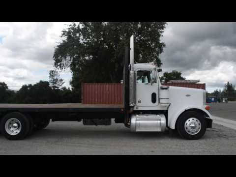 1994 Peterbilt 378 flatbed / Charter Trucks - U10348