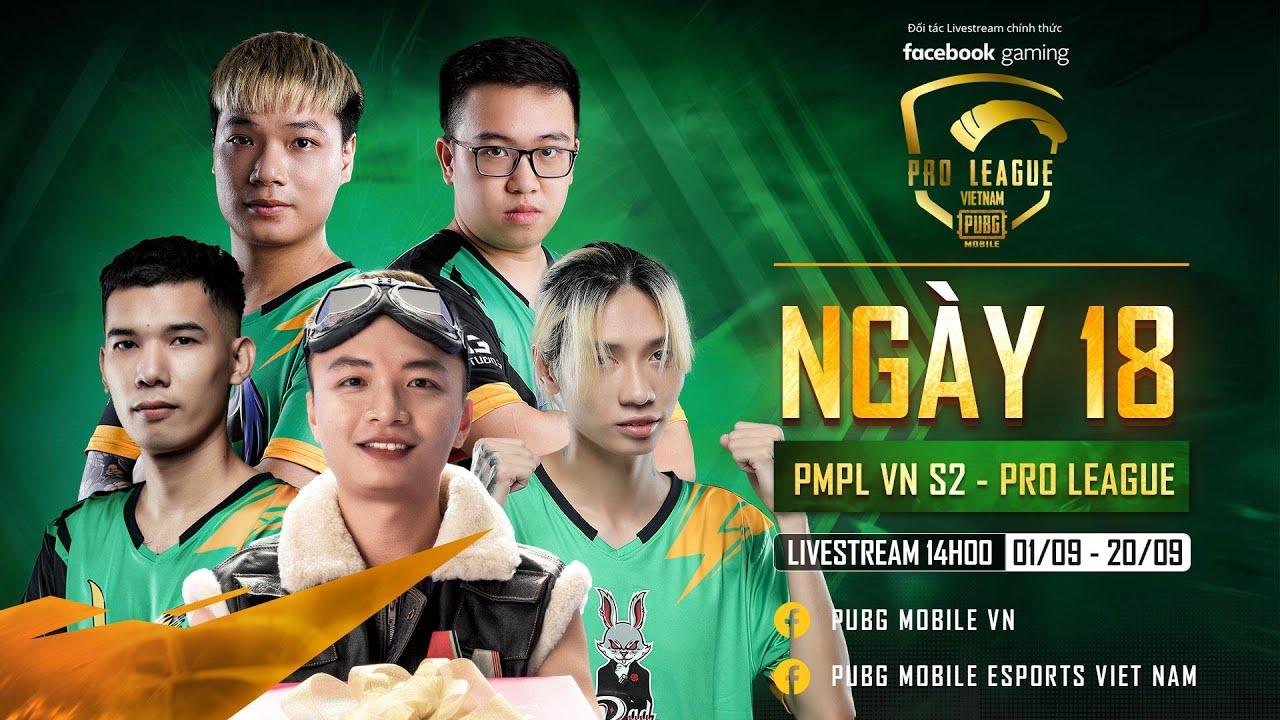 PMPL VN S2 | VGaming Chính Thức Vô Địch Vòng Pro League | Tuần 3 - Ngày 6 | Bảng A x Bảng C