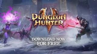 dungeon hunter 5 frozen bastion game trailer