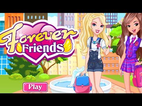 mejores amigas por siempre, juegos de vestir y maquillar - youtube