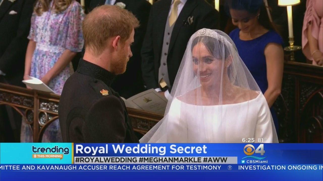 Royal Wedding Dress Meghan Markle.Trending Meghan Markle S Wedding Dress Secret