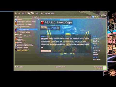 【-windowed 1】Steamのゲームをウインドウモードにする方法【実況】