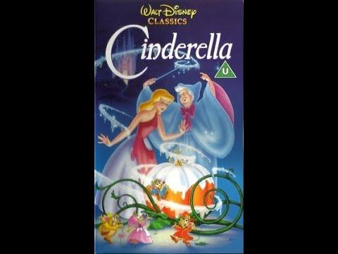 Closing To Cinderella UK VHS (1992)