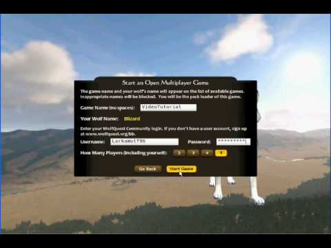Wolf quest tutorial 3 multi player youtube wolf quest tutorial 3 multi player ccuart Choice Image