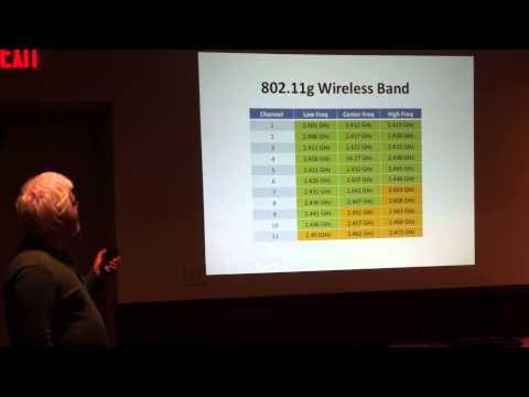1/4 Ken Dorsey presents Broadband-Hamnet at Akron Linux User Group