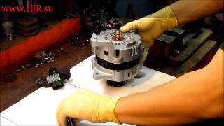 Ремонт генератора на Chevrolet Lacetti(Ремонт генератора на Chevrolet Lacetti Опять же хотелось бы отметить нецелесообразность данного ремонта, так как..., 2013-02-09T23:00:55.000Z)