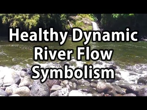 Dr Robert Cassar, A beautiful river symbolizing healthy dynamic flow of the body in HD 2014