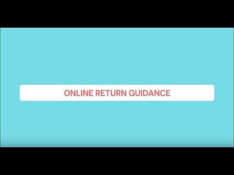 Online Return Guidance By Lazada - Eng Version
