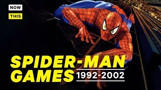 The History of Spider-Man Games Part 2: 1992 - 2002 | Playing With Powers | NowThis Nerd