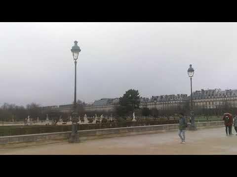 Louvre jardin Des tuileries Garden Paris France