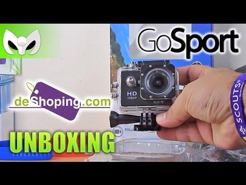 UNBOXING #GoSport Action Cam - (DeShoping.com)