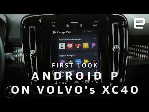 Android P On Volvo's XC40 First Look