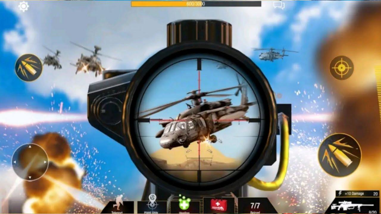 Sniper Game: Bullet Strike – Free Shooting Game | Top War Shooting Games 2021