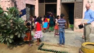 "Happy and Playful Kids at ""Shiksha Shakti Gyan Kendra"" School Thumbnail"