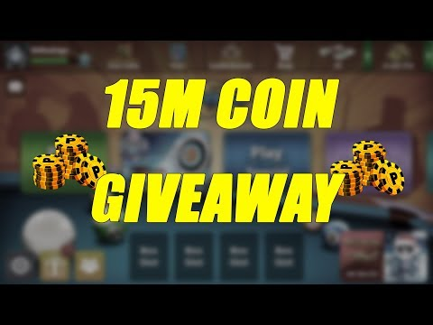 8 Ball Pool - 15m Coin Giveaway!