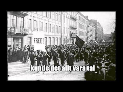 Hjalmar Brantings anförande i rösträttsfrågan 1918 (textad)