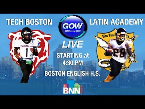 Game of the Week: Tech Boston Bears vs. Latin Academy Dragons (Football)