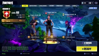 Playing Fortnite with the worst team ever