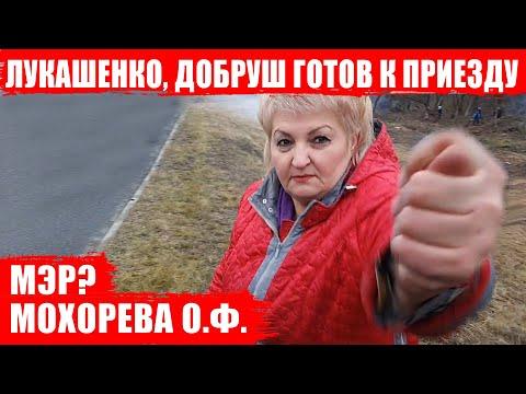 Лукашенко, Добруш готов к приезду! Фига Мохоревой