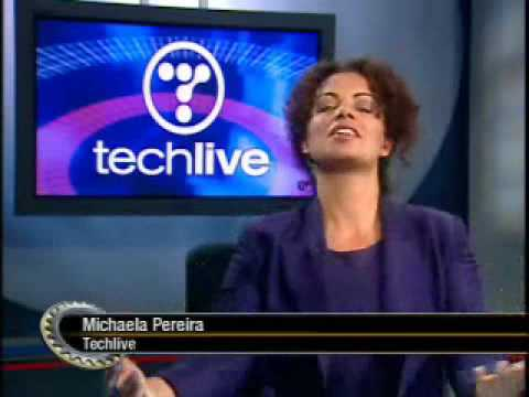 the screen savers michaela pereira 39 s final techlive promo on tss youtube. Black Bedroom Furniture Sets. Home Design Ideas