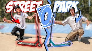 ON ÉCHANGE NOS TROTTINETTES | STREET VS PARK (feat.@Camille Scooters )