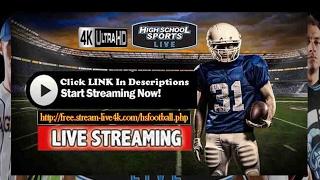 North Wake Saints vs. Carolina Bearcats - Live Football HighSchool || Playoffs