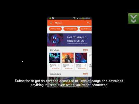 Google Play Music - Discover, play, and share music - Download Video Previews