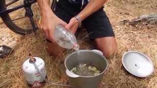 Приготовление борща из сушеных овощей