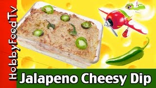 Hobbyfood: Jalapeño Cheese Popper Dip! Chupacabra Spices Up Cheese Popper Dip N Chips Hobbykidstv