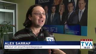 Alex Sarraf à TVA Nouvelles - Gatineau - Ottawa