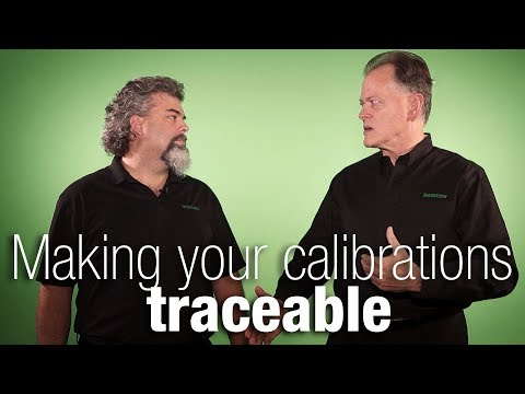 How To Make Calibrations Traceable