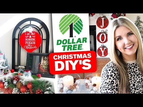 Dollar Tree DIY Christmas Decor 🎄 Christmas Sign 2019