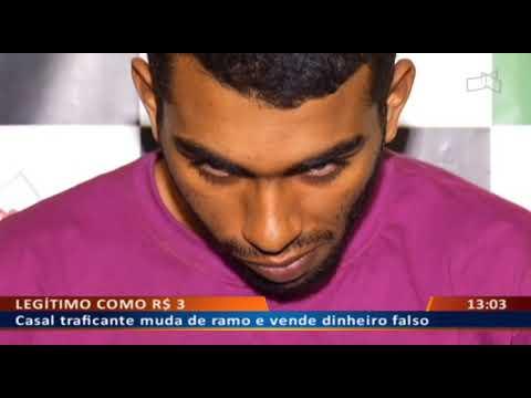 DF ALERTA - Casal traficante muda de ramo e vende dinheiro falso