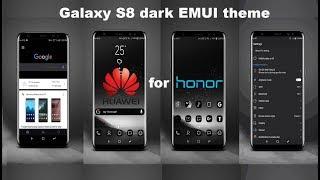 Galaxy s8 black theme