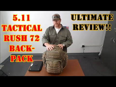 5.11 Tactical Rush 72 Backpack Ultimate Review!!