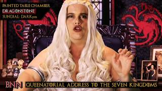 Game of Thrones Trump Parody_The Royal Shutdown: Game of Walls: Dany 2020: S2: E1
