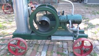 Bagshaw OA stationary engine. Built in Adelaide c1906