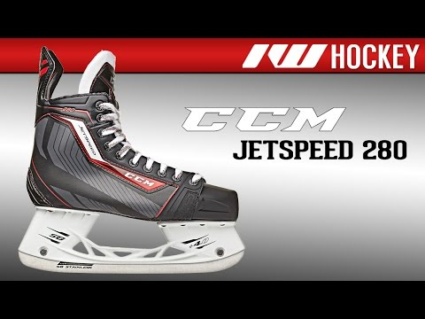 9af969bc368 CCM JetSpeed 280 Ice Hockey Skate Review - YouTube