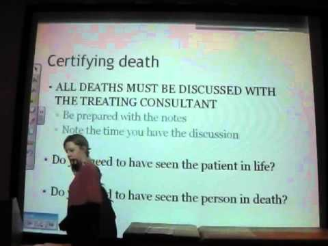 Emergency Medicine OSCE 2 - Death-1
