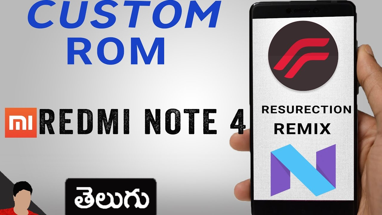 Resurrection Remix(Android 7 1 1) Custom Rom for Redmi Note 4 in dept  review about