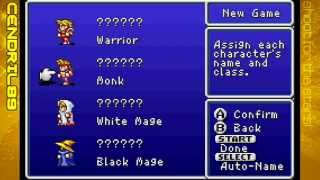 Let's Play Final Fantasy 1 (GBA) - Ep.1: The Remake of The Beginning