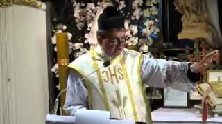 Ks. Piotr Natanek - Kazanie o Tajemnicy Mszy Świętej wg. św. Ojca Pio 22.07.2013