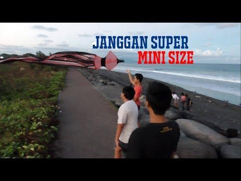Layang-layang Janggan SUPER MINI Pantai Padanggalak